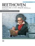 """Sonata No. 21 in C Major, """"Waldstein,"""" Op. 53 - Piano"""