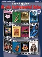 Easy Popular Movie Instrumental Solos - Tenor Sax/CD