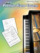 Premier Piano Course, Assignment Book [Piano]