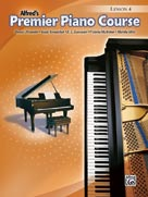 Premier Piano Course Lesson 4 with CD