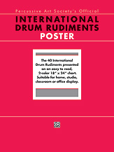 International Drum Rudiments - posters