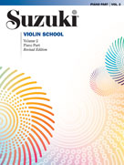 Suzuki Violin School Piano Acc., Volume 2 (Revised) [Violin]