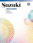 Suzuki Violin School Violin Part & CD, Volume 4 (Revised) [Violin]