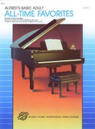 Alfred's Basic Adult Piano Course: All-Time Favorites Book 1 [Piano]