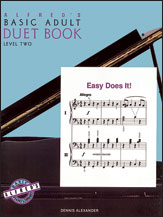 Alfred's Basic Adult Piano Course: Duet Book 2 [Piano]