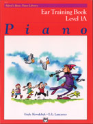 Alfred's Basic Piano Library Ear Training Book 1A
