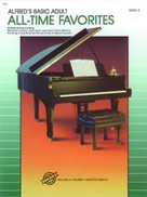 Alfred's Basic Adult Piano Course: All-Time Favorites Book 2 [Piano]