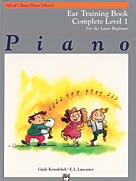 Alfred's Basic Piano Library Complete Ear Training 1