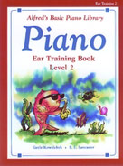 Alfred's Basic Piano Library Ear Training Book 2