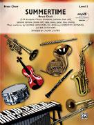 Summertime - Brass Choir with Rhythm Section (Book/Online Audio)