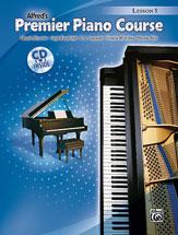 Premier Piano Course Lesson Book 5 BK/CD
