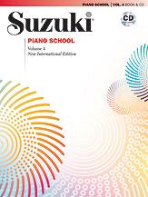 Suzuki Piano School New International Edition Book and CD, Volume 4