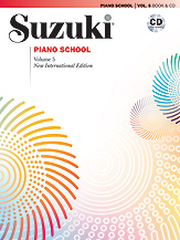 Suzuki Piano School New International Edition Piano Book and CD, Volume 5 [Piano]