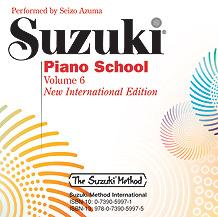 Suzuki Piano CD Vol 6 New International Edition