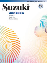 Suzuki Violin, Vol. 5 (Rev. Book + CD)