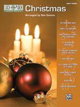 10 for 10 Sheet Music: Christmas [Piano] piano