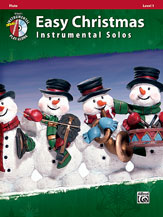 Easy Christmas Instrumental Solos, Level 1 [Flute] Book/CD