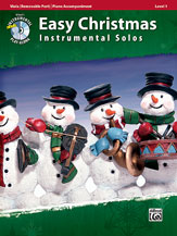 Easy Christmas Instrumental Solos, Level 1 for Strings [Viola]