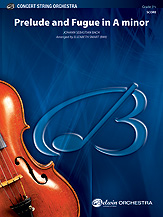 Alfred Bach                 Smart E  Prelude and Fugue in A Minor - String Orchestra
