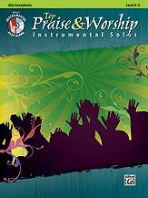 Top Praise & Worship Instrumental Solos [Alto Sax] w/cd