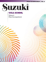 Suzuki Viola School Piano Acc., Volume 8 [Viola]
