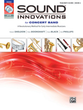 Sound Innovations for Concert Band Bk 2 Score WDVD