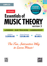 Alfred's Essentials of Music Theory Ver. 3 - Complete Student CD-ROM