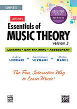 Essentials of Music Theory Software Educator Version Complete CD-ROM