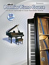 Premier Piano Course Lesson Book 6 BK/CD