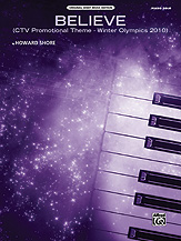 Believe (Winter Olympics 2010) [Piano]