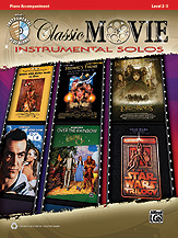 Classic Movie Instrumental Solos - Piano Accompaniment
