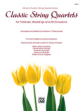 Classic String Quartets for Festivals, Weddings, and All Occasions Viola