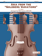 Alfred Bach                 Lipton B  Aria from the Goldberg Variations - String Orchestra