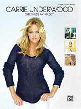 Carrie Underwood Sheet Music Anthology [Piano/Vocal/Guitar]