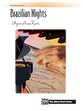 Brazilian Nights [intermediate 1p4h] Piano Duet