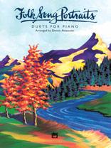 Folk Song Portraits - Piano Duet