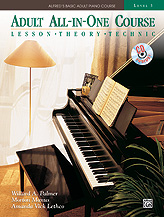 Alfred's Basic Adult All-in-One Piano Course, Book 3 (Bk/CD)