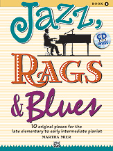 Jazz, Rags and Blues Book 1 - Book with CD