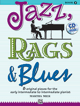 Jazz, Rags and Blues Book 2 - Book with CD