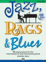 Jazz, Rags, & Blues Bk. 3 w/CD