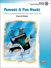 Famous & Fun Duets Bk 2 FED-P1 [1p4h]