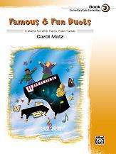 Famous & Fun Duets Bk 3 1P4H P2 P3