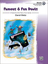 Famous & Fun Duets Bk 4 FED-E2/E3/E4 [1p4h]
