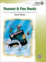 Famous & Fun Duets Bk 5 FED-MED [1p4h - intermediate]