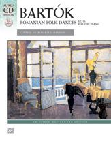 Romanian Folk Dances w/CD  Piano Solo
