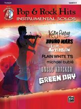 Pop & Rock Hits Instrumental Solos [Trumpet] BKCD
