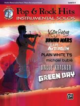 Pop & Rock Hits Instrumental Solos for Strings [Violin] BKCD