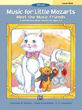 Alfred    Music for Little Mozarts - Meet the Music Friends Music Workbook
