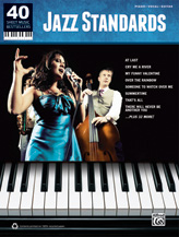 40 Sheet Music Bestsellers: Jazz Standards [Piano/Vocal/Guitar]