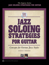 Jazz Soloing Strategies for Guitar [Guitar] BKCD